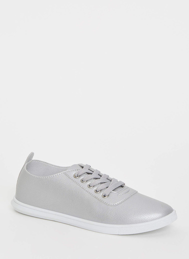 DeFacto Bağcıklı Sneaker Gri